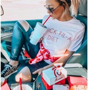 Chick-fil-a diet T-shirt